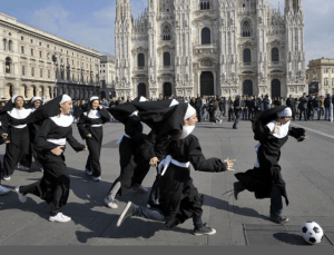 Nuns in Run !!