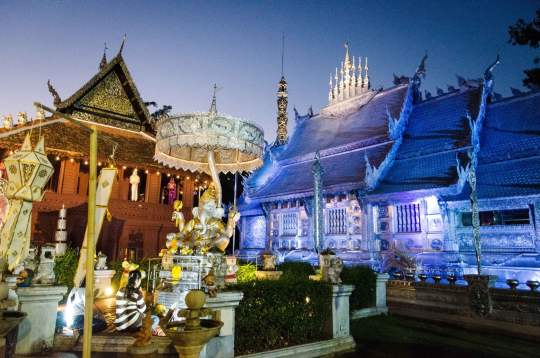 Wat Sri Suphan at Night