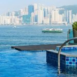 Infinity Pool at Intercontinental Hong Kong