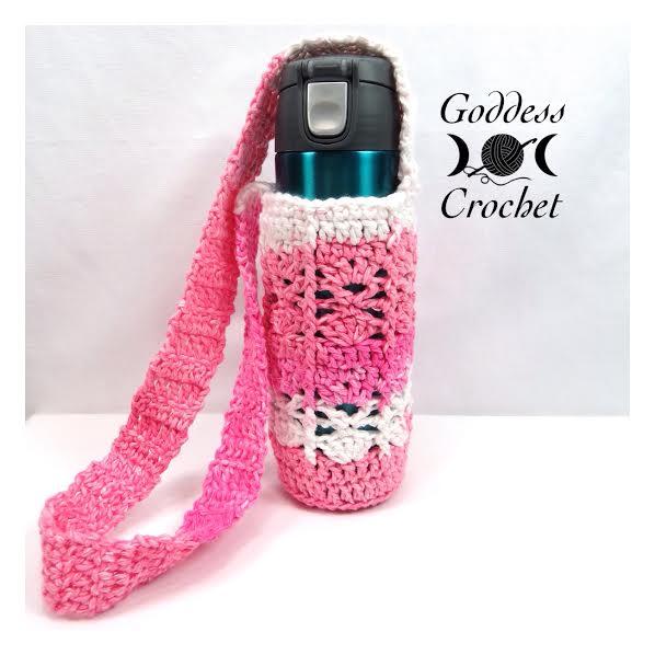 New Crochet Pattern ? ?The Shelly? Water Bottle Holder ...