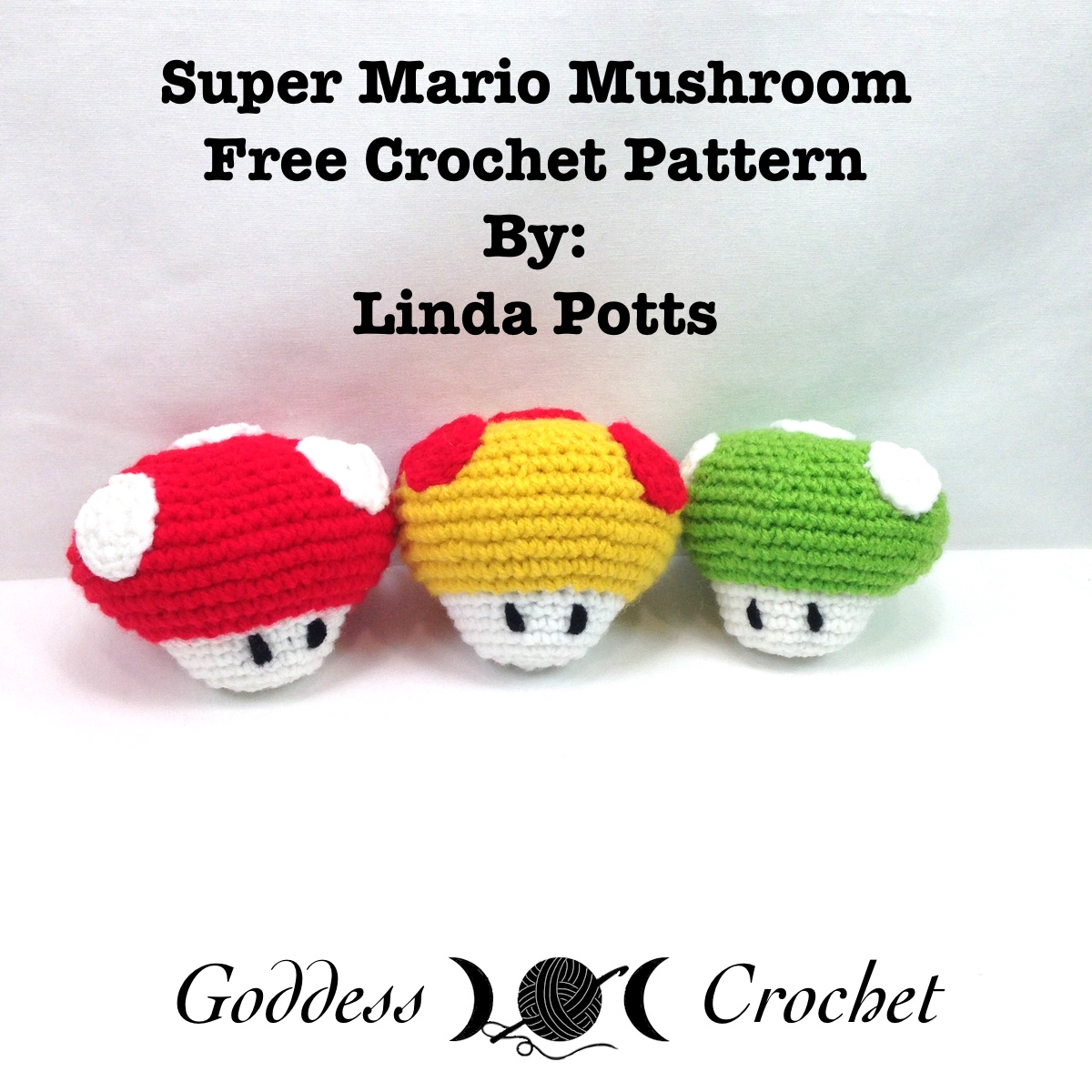 Super Mario Mushroom Free Crochet Pattern Review ...