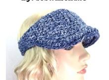The Curtis Visor - Free Crochet Pattern