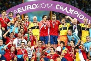 EM 2016 Europamestre 2012 Spanien