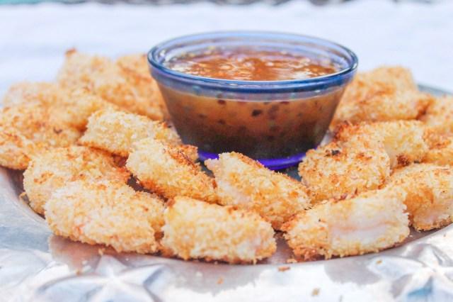 Skinny Coconut Shrimp | God Save the Quinoa