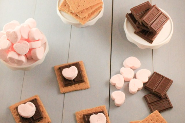 Smores Valentine Cookie recipe