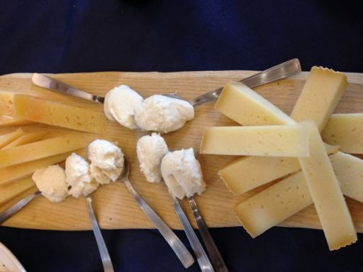cheese tasting Italy
