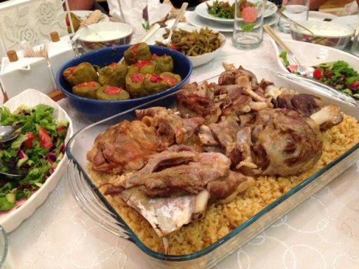 Turkish lamb & rice