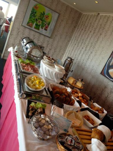 breakfast buffet at Hotel Arctic