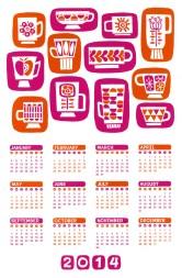 Mod Calendar 2014