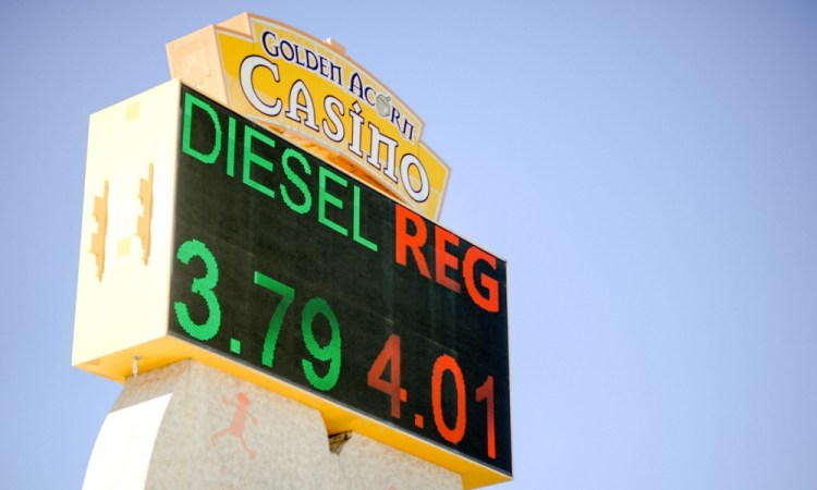 Diesel Gas Station Campo CA Golden Acorn Travel Center