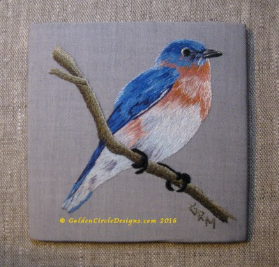Completed Eastern Bluebird