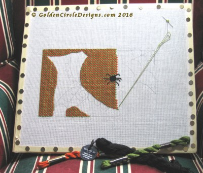 Witches Brew… er… Shoe Needlepoint