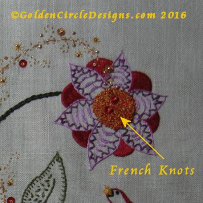 Basic Embroidery Stitches – French Knots