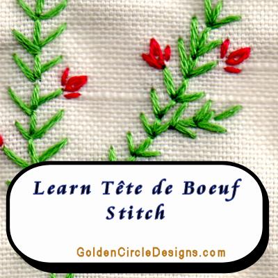 OxHead Stitch (Tête de Boeuf)