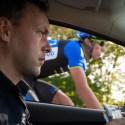 Die Münsterland Giro im Teamauto von NetApp-Endura