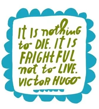 Frightful Not to Live
