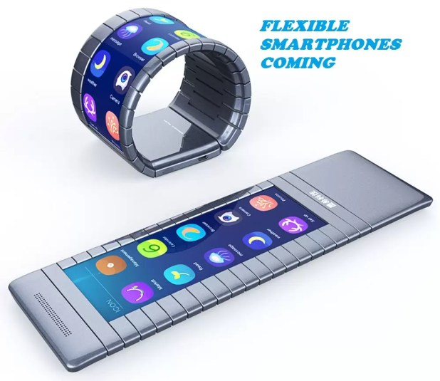 Flexible Smartphones Are Coming