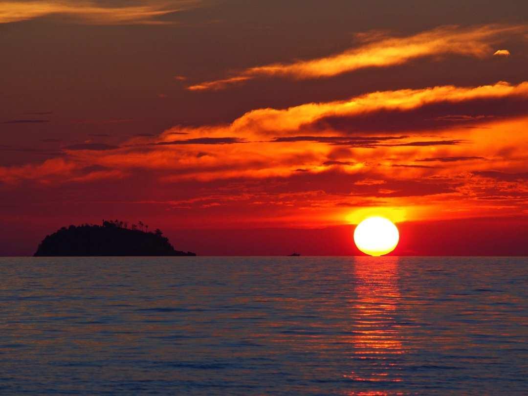 incredible sun set view - photo #11