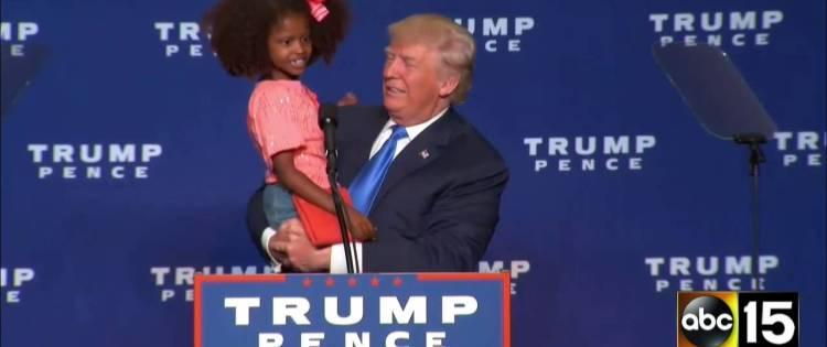 Donald Trump and ሰላምነሽ