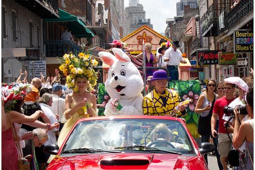 31st Annual Chris Owens French Quarter Easter Parade. Image courtesy Sean Connors, via Flickr.