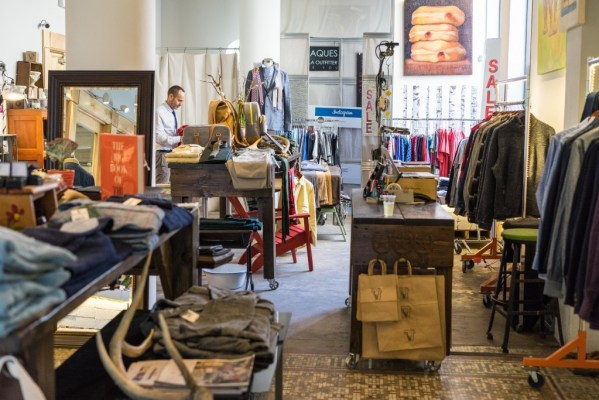 Fraques is a boutique with mens clothing and carefully selected home goods on Baronne Street in Downtown New Orleans
