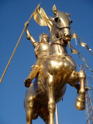 joan of arc statue new orleans