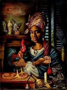New Orleans voodoo priestess