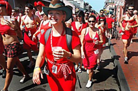 red dress run new orleans