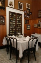 Tujague's bar and restaurant in the French Quarter