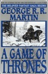 A Game Of Thrones, George RR Martin, Book Cover