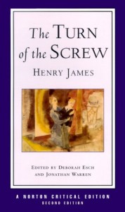 The Turn Of The Screw, Henry James, Book Cover