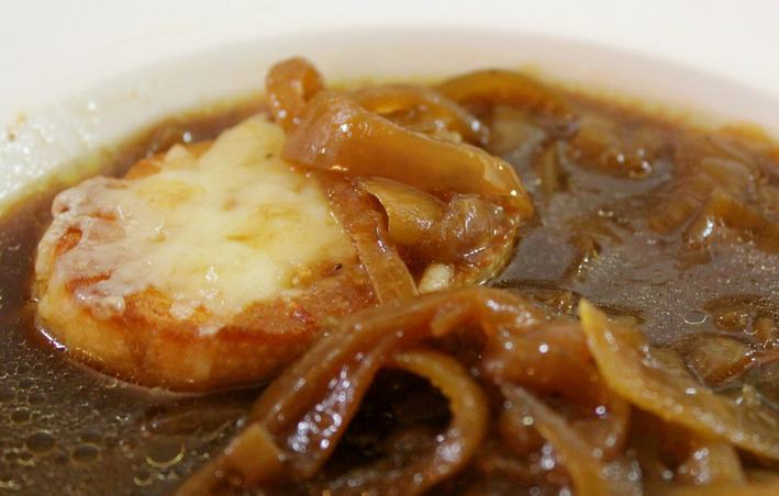 Nov 03,  · Cut the roast into 4 to 6 large chunks and place them in the slow cooker. Add the French onion soup and mushrooms. Cover and cook on LOW for 8 to 10 hours, or until very tender. Or, cook on HIGH for 4 to 5 hours.