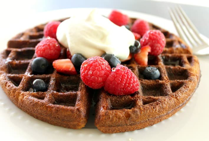 these waffles are delicious with a classic waffle texture just a ...
