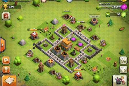 clash of clans early defense