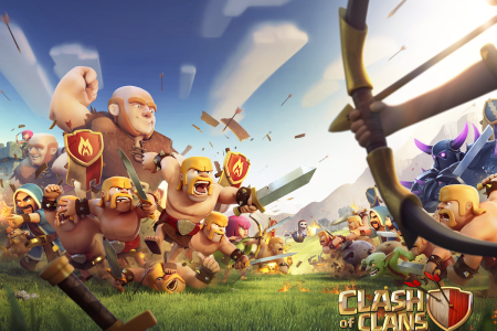 clash of clans clan wars le screen