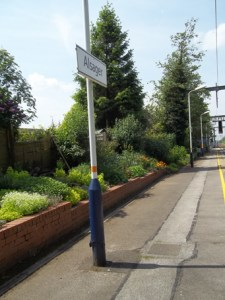 Alsager Station gardens low res 4 May 2014