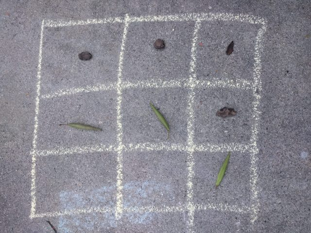 Outdoor Math Tic Tac Toe photo by L. Ravitch