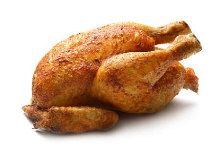 Simple Roast Chicken for #SundaySupper