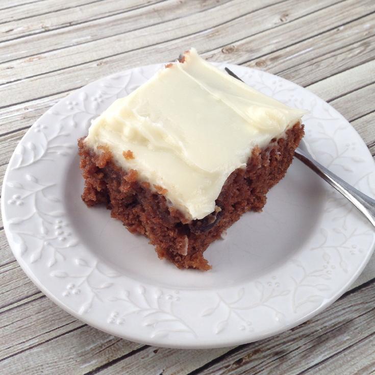 MI memories: Spanish Bar Cake for #SundaySupper