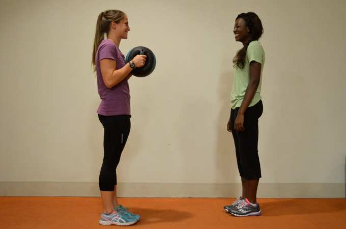 Starting Lunge Position