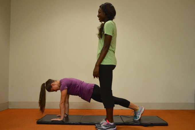 Jump Squats Planks