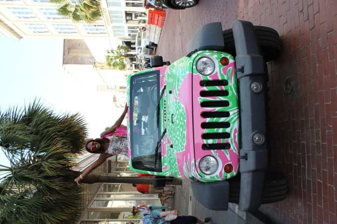Lilly Pulitzer Jeep // Charleston // GoodTomiCha.com