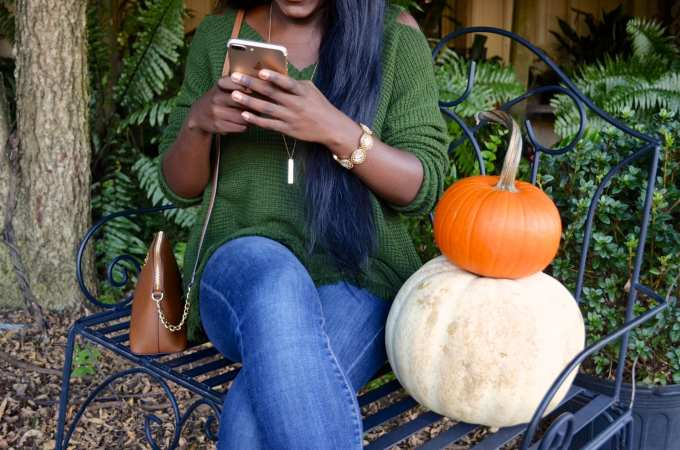 Instagramming and Pumpkin Picking = Fall