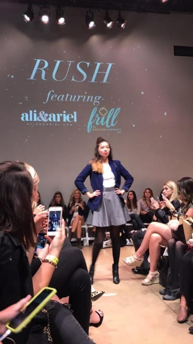 Chicago college fashion week recap with her campus