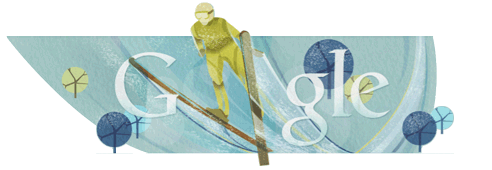 Google Doodle Skispringen
