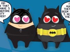 Googly Gooeys Facebook Timeline Cover(8) Batman & Catwoman (RGB)