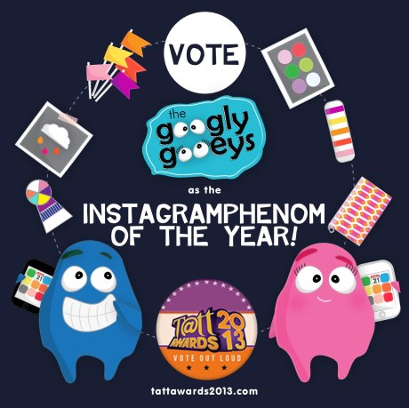 Vote The Googly Gooeys at the Tatt Awards 2013
