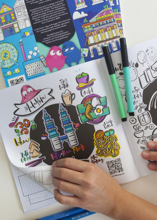 Travel Coloring Book Malaysia