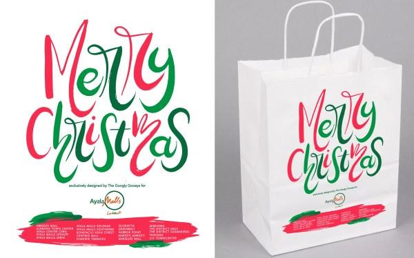 Ayala Malls Christmas PaperBag Merry Christmas
