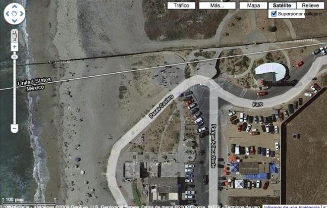 Tijuana y Google Maps